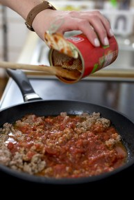 Tomaten-hinzugeben