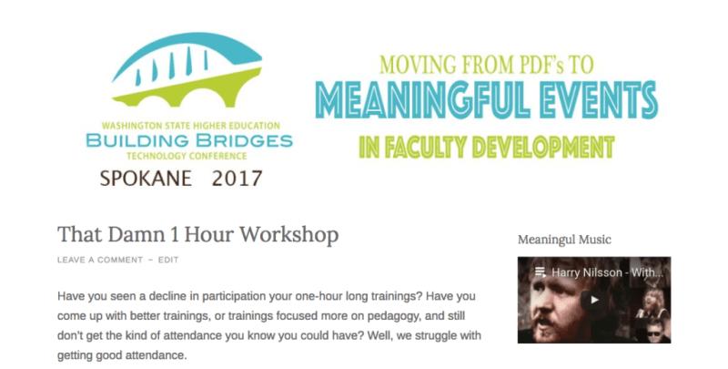 Conference Website banner
