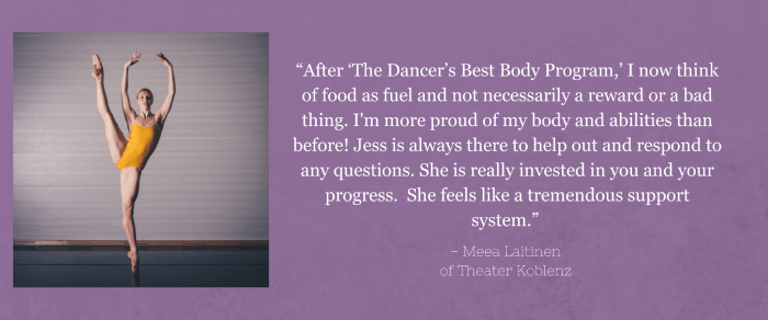 Ballet Dancer Meea Laitinen