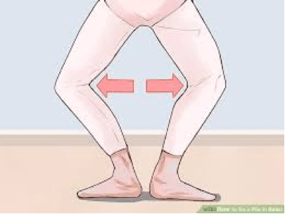 Knee and Ankle Alignment in Ballet