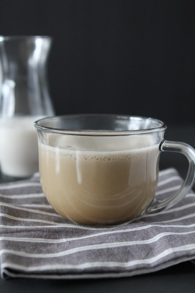 Whole30 compliant Latte from the Whole Smiths. No added sweeteners or dairy, paleo friendly. Delicious and a MUST Pin for your next Whole30.