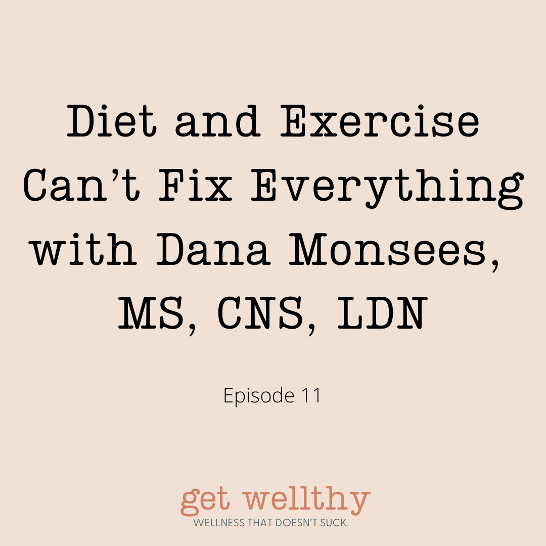 Diet and Exercise Can't Fix Everything