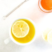 Soothing Honey Lemon Ginger Tea