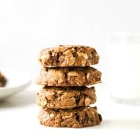Peanut Butter Cacao Nib Cookies {Gluten Free}