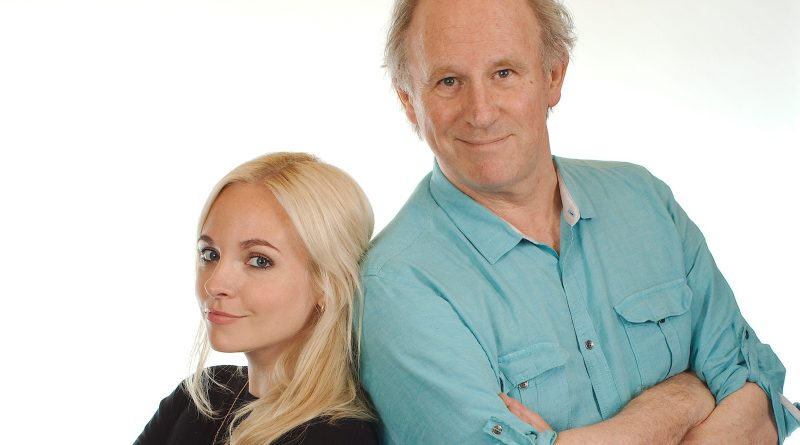 Georgia Tennant and Peter Davison