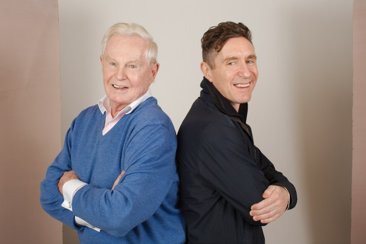 I Am The Master - or more specifically he is, Derek Jacobi and Paul McGann (c) Big Finish Productions