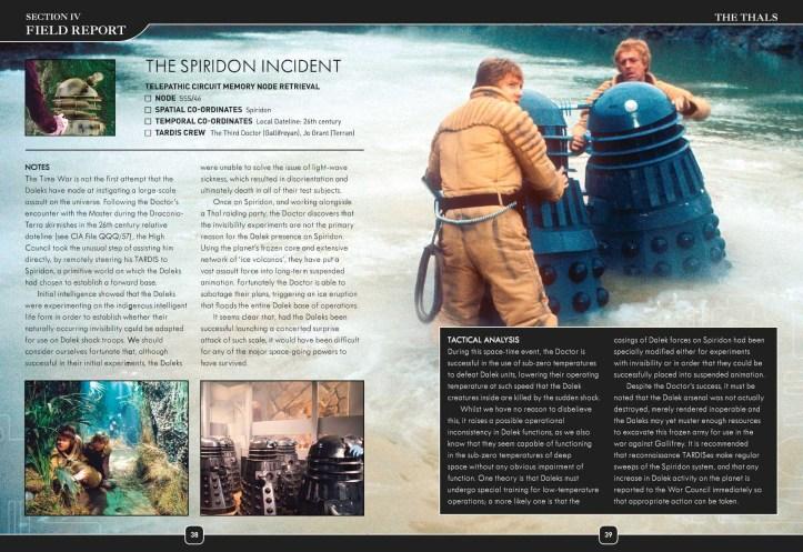 The Spiridon Incident - Dalek Combat Manual (c) BBC Books