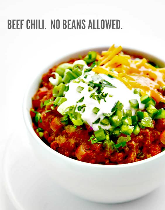 Chili Beanless Easy Recipes