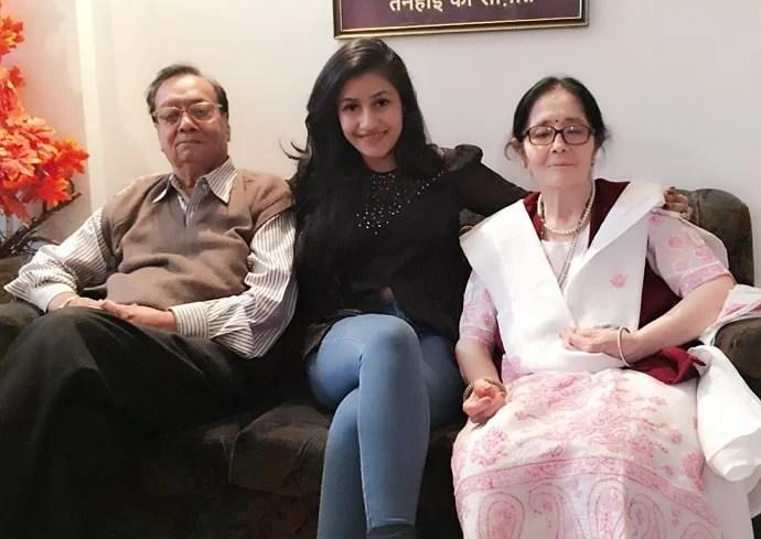 dhanashree verma grandparents