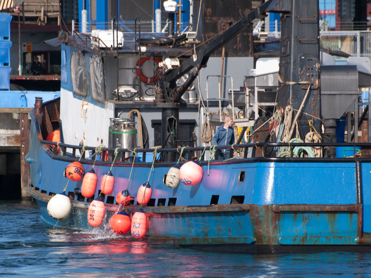 Fishing Vessel on Elliott Bay