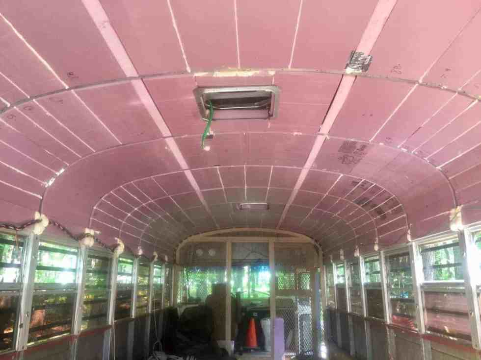 insulation bus tiny home thermal barrier