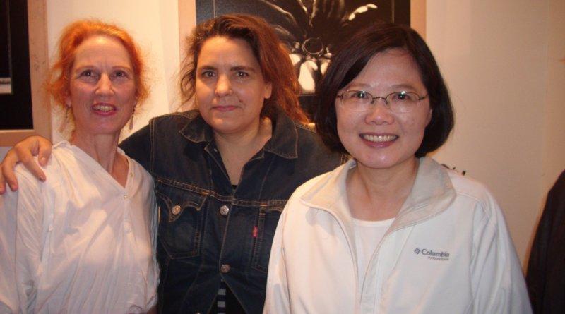 Tsai Ing-wen & Trista di Genova-CHANG