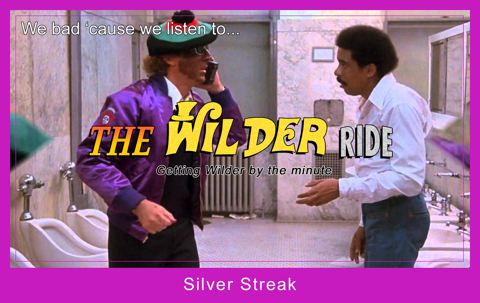 Gene Wilder - Silver Streak with Richard Pryor - Trading Card