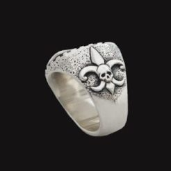 virgin mary silver ring
