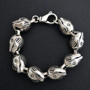 the scream bespoke bracelet