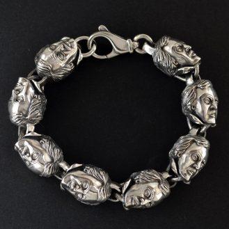 Bespoke Edgar Allan Poe Bracelet