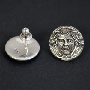 bespoke medusa earrings