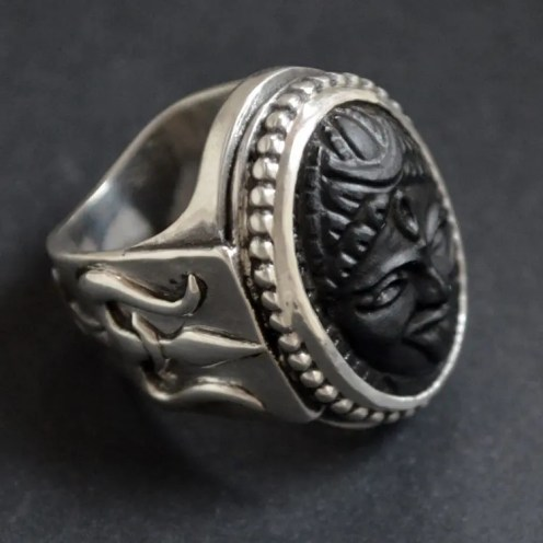 Kali and Trishula ring