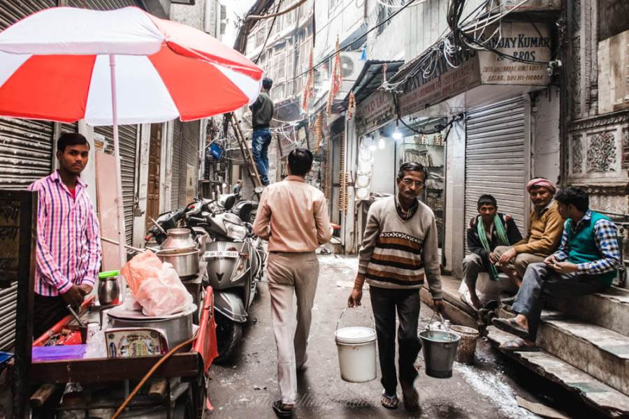 Chadni Chowk: An alleyway where many things happen at once