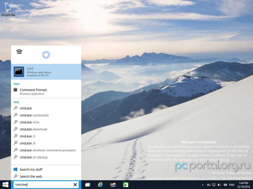 Windows 10 9901