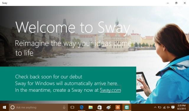 Sway 1