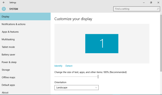 Windows 10: How to fix Screen size (Display resolution)