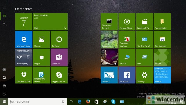 Windows 10 Control Panel 2