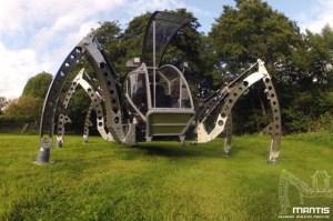 Matt Denton's - Mantis Robot