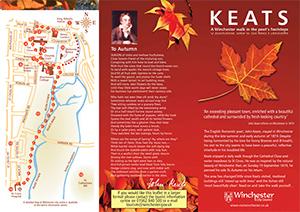 Keats Walk leaflet, Winchester City Council