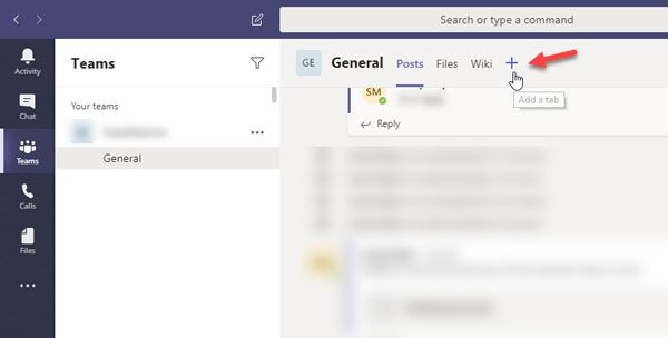 How to install the app and add it as a tab in Microsoft Teams