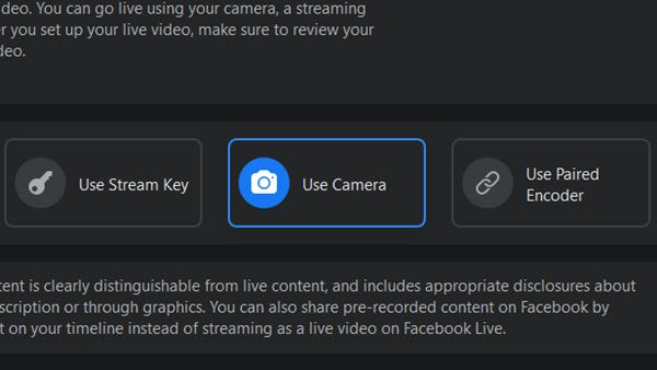 How to broadcast on Facebook Live