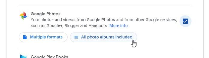 How to transfer Google Photos to another account