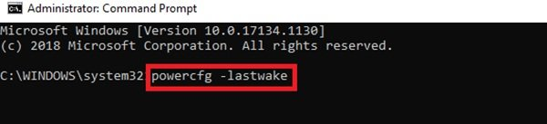 Wake source of Windows 10 PC
