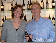 10021 Peter & Deborah Core, Mas Gabriel, Languedoc Outsiders Tasting London 10 Nov 10