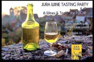 Jura Wine Book and Tasting
