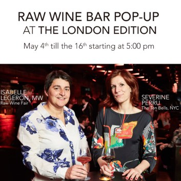 RAW Wine Fair 2016
