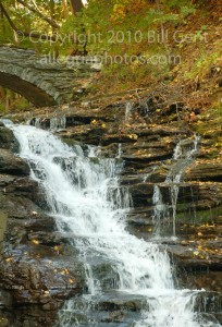 The falls in autumn, Ithaca
