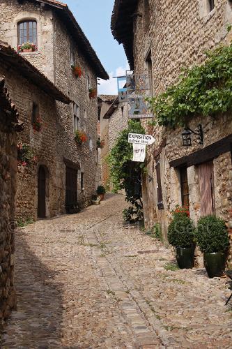 Entrance into the village