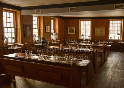 Dining room at Fraunces Tavern