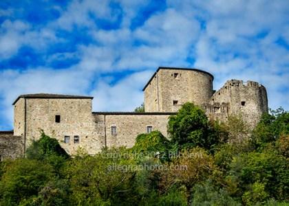 View of Piagnaro Fortress, Pontremoli