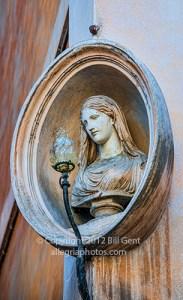Madonnina near Fountain of Trevi