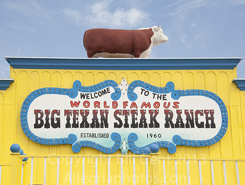 Big Texas Steak Ranch, Amarillo, Texas