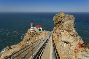 The lighthouse at Point Reyes