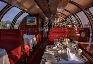 Vista Dome Car, Napa Wine Train