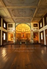 Interior, Mission of the Sacred Heart, Idaho