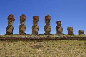 Ahu Anakena, Rapa Nui