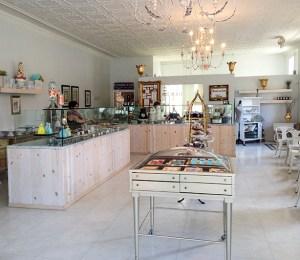 The interior of La Patisserie Chouquette