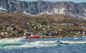 Tasiilaq, the administrative center of Eastern Greenland