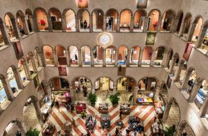 A view into the Atrium