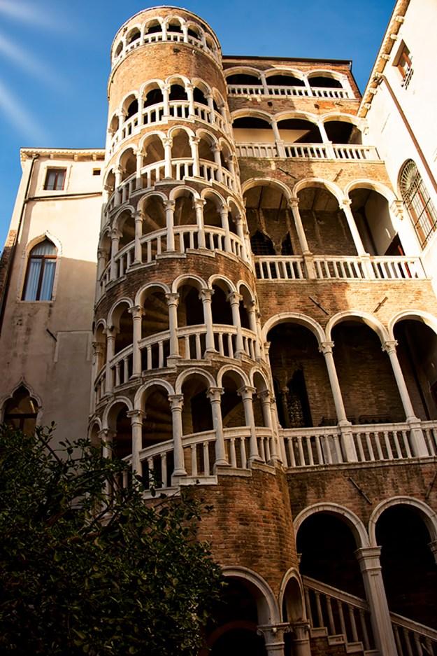 The Bovolo or Snail Staircase